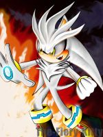 Silver The Hedgehog by Blaze-Fiery-Kitty