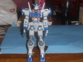 MG Duel Back view by zanruos