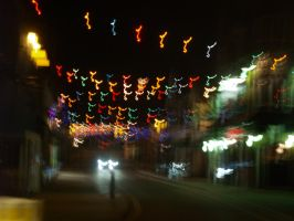 Christmasy Lights by Evender28