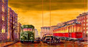 Moscow 1947 by eremin