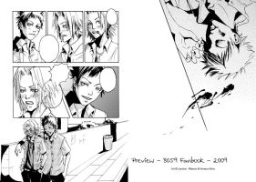 8059 fanbook preview pages :D by Lancha