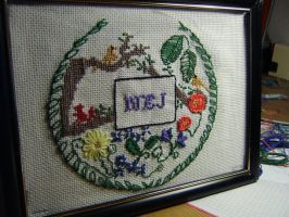 NO cross stitch by TsDott