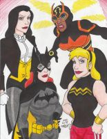 Young Justice Girl Power by Crash2014