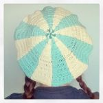 Winter is cominig..Crochet Candy Hat by Tofe-lai