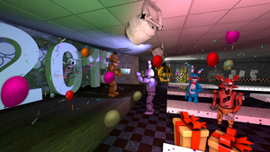 New Years at Freddy's by Jupiterjumper2