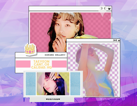 GIRLS GENERATION | TAEYEON | PACK PNG by KoreanGallery