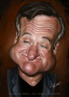 Robin Williams (1951-2014) by CarlosRubio
