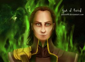 God of Mischief by alison90