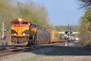 KCS and UP 35E I 3-25-12 by the-railblazer