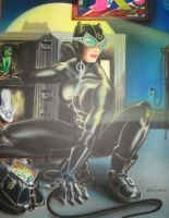Catwoman by WEDMER