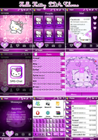 My Hello Kitty PDA theme by LadyPinkilicious