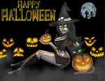 Witch Pin-up Halloween 2013! by mystik1369