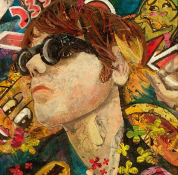 ArtIsSmart Gerard Way Twitter Contest Entry by KatyChemical