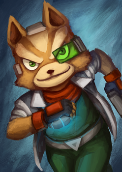 Fox McCloud by tiagorcp