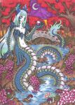 .::Chinese River Dragon Lady:: by SpadesofSevenSins