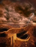 Chinese Great Wall by Namkoart