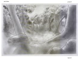 location design, forest by Di---Chan