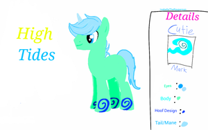 Pony Raffle #2: High Tides. (Back on) {CLOSED} by IsabellatheRayperson