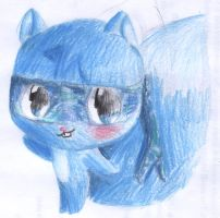 Blue the fox by Accyber