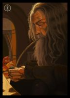 Gandalf the Grey by DameOdessa