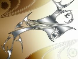 Neo Tribal Metal Wave by cow41087