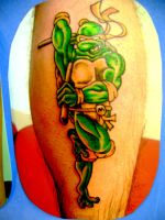 ninja turtle tattoo by Toast79