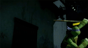 (GIF) TMNT - Donnie's Moves by LumosLightning