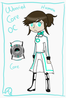 -Portal: Worried Core OC- by Nega-Lara