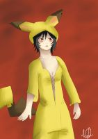 pika cosplay by kimbolie12