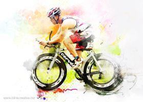 triathalon by charliemonster