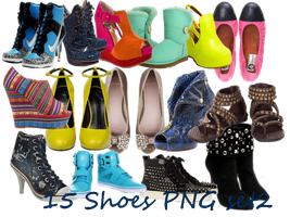Shoes Png set3 by JEricaM
