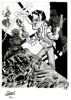 evil dead by the-sketchman