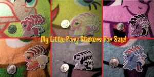 MLP Stickers For Sale! by DragonMewGirl