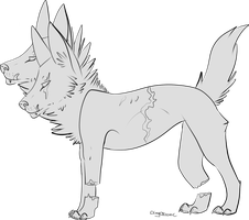 Free Mutant Dog Lines! by DingoIconic