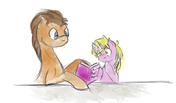 Study Time by PaintingStrides
