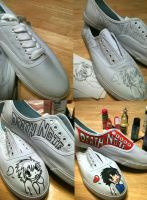 My Death Note Shoes So Far :D by RENNlE