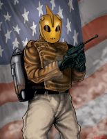 Rocketeer by Martin666