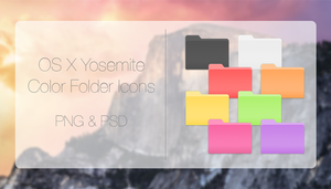 Yosemite Folders - Colors by StarlightSymphonies