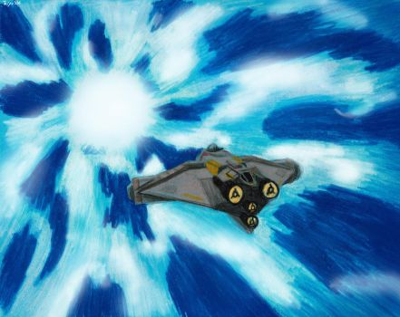 The Ghost in Hyperspace by Taipu556