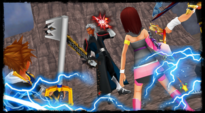 KH ReImagined - SoRiKai VS Kroez by todsen19