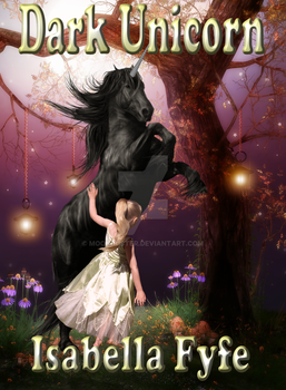 Book Cover for Dark Unicorn by Isabella by moonduster