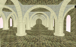 -stage flood- -RPG- Castle hall by amiamy111