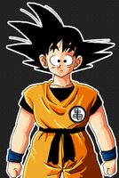 Young Son Goku - Revised by H1d4n