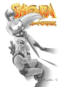 She-Ra and He Man by bgolden1