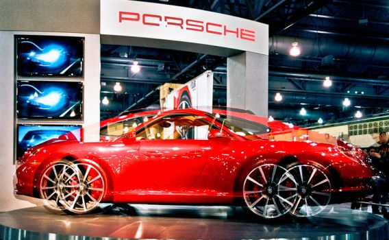 Porsche 9116 @ Philly Auto Show by akachrismorgan
