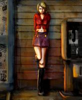 Silent Hill 2: Outside Petes by TyannCll