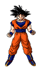 Goku! pixel art  by Cyclone62