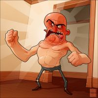 Angry Man by MathieuBeaulieu