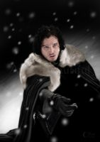 A Painting of Jon Snow by jht888