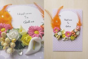 Happiness card by YammiYammi